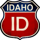 Idaho Metal Novelty Highway Shield
