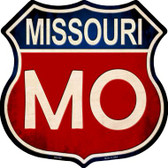 Missouri Metal Novelty Highway Shield