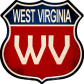 West Virginia Metal Novelty Highway Shield