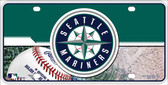 Mariners Novelty Metal License Plate
