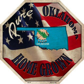 Oklahoma Home Grown Wholesale Metal Novelty Stop Sign