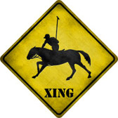 Polo Xing Novelty Metal Crossing Sign