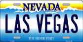 Las Vegas Nevada Background Novelty Metal License Plate