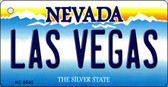Las Vegas Nevada Background Novelty Key Chain