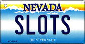 Slots Nevada Background Novelty Key Chain