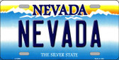 Nevada Nevada Background Novelty Metal License Plate