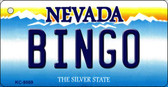 Bingo Nevada Background Novelty Key Chain