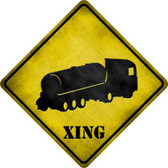 Tank  Xing Novelty Metal Crossing Sign