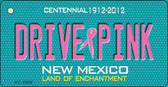 Drive Pink New Mexico Novelty Key Chain