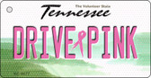 Drive Pink Tennessee Novelty Key Chain