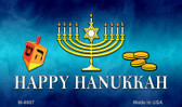 Happy Hanukkah Novelty Metal Magnet