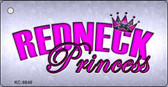 Princess Redneck Novelty Metal Key Chain