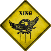 Dream Catcher Xing Novelty Metal Crossing Sign