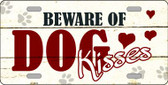 Beware of Dogs Novelty Metal License Plate