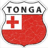 Tonga Highway Shield Novelty Metal Magnet
