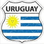 Uruguay Highway Shield Novelty Metal Magnet