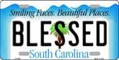 Blessed South Carolina Novelty License Plate LP-2780