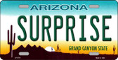 Surprise Arizona Metal Novelty License Plate LP-2781