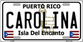 Carolina Metal Novelty License Plate LP-2825