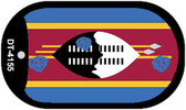 "Swaziland Country Flag Dog Tag Kit 2"" Metal Novelty"
