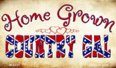 Home Grown Country Gal Novelty Metal Magnet