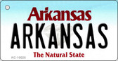 Arkansas Arkansas Background Key Chain Metal Novelty