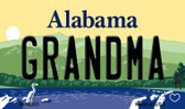 Grandma Alabama State Background Magnet Novelty M-10003