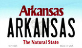 Arkansas Arkansas State Background Magnet Novelty M-10025