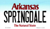 Springdale Arkansas State Background Magnet Novelty M-10029