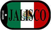 "Jalisco Mexico Flag Dog Tag Kit 2"" Metal Novelty Necklace"