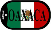 "Oaxaca Mexico Flag Dog Tag Kit 2"" Metal Novelty Necklace"