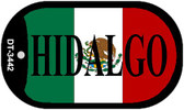 "Hidalgo Mexico Flag Dog Tag Kit 2"" Metal Novelty Necklace"