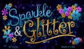 Sparkle And Glitter Novelty Magnet