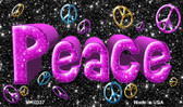 Peace Novelty Magnet
