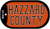 Hazzard County Dog Tag Kit Novelty Necklace