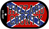 Hazzard County Confederate Flag Dog Tag Kit Novelty Necklace