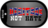 Heritage Not Hate Dog Tag Kit Novelty Necklace