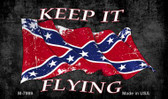 Confederate Keep It Flying Novelty Magnet M-7999