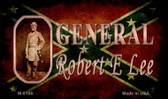 General Robert E Lee Novelty Magnet M-8105