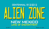 Alien Zone New Mexico Novelty Magnet
