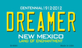 Dreamer New Mexico Novelty Magnet