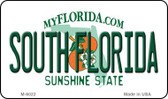 South Florida State License Plate Magnet M-6022