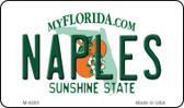 Naples Florida State License Plate Magnet M-8285