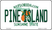 Pine Island Florida State License Plate Magnet M-8364