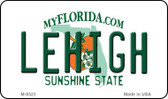 Lehigh Florida State License Plate Magnet M-8523
