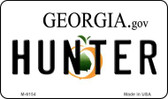 Hunter Georgia State License Plate Novelty Magnet M-6154