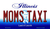 Moms Taxi Illinois State License Plate Magnet M-10310
