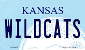 Wildcats Kansas State License Plate Novelty Magnet M-6604