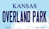 Overland Park Kansas State License Plate Novelty Magnet M-6610