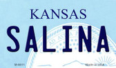 Salina Kansas State License Plate Novelty Magnet M-6611